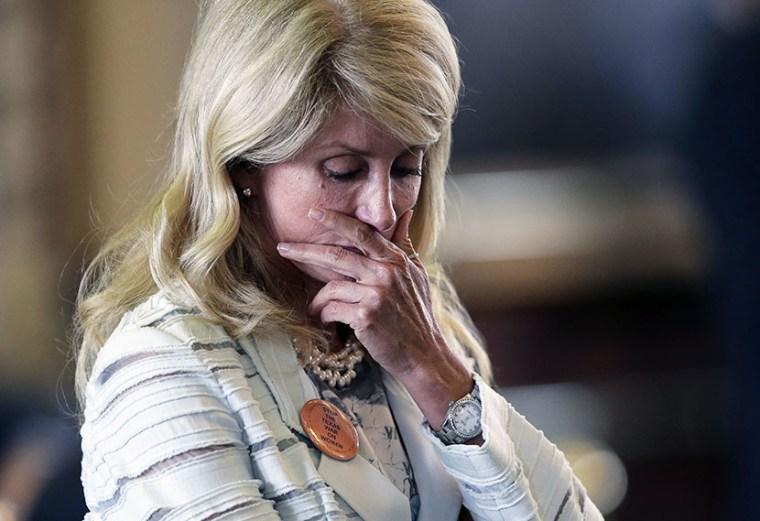 Texas State Sen. Wendy Davis (Photo by Eric Gay/AP)
