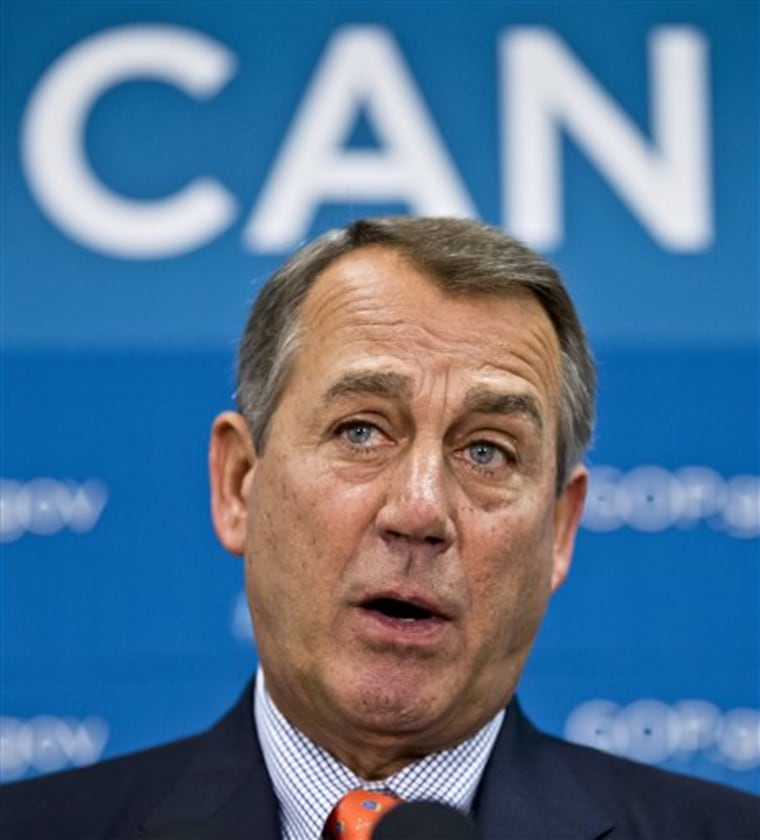 Can you, Mr. Speaker? (AP Photo/J. Scott Applewhite)