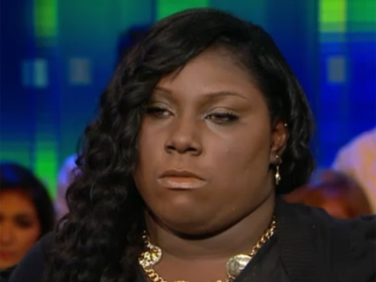 Rachel Jeantel speaking out after the trial. (CNN)