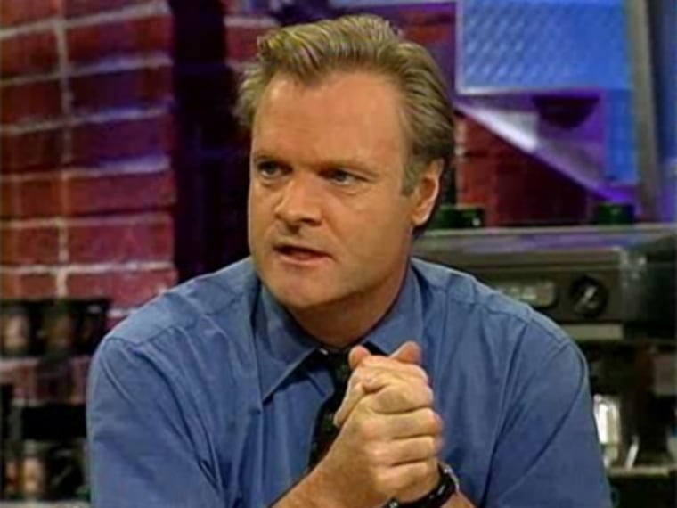 Lawrence O'Donnell during an msnbc on July 15, 1996.