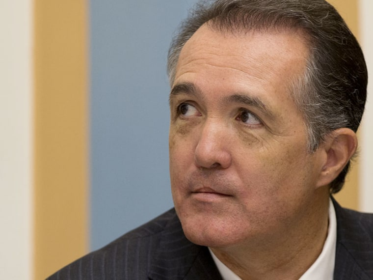 Rep. Trent Franks, R-Ariz., attends the  House Judiciary Committee hearing on Capitol Hill in Washington, Tuesday, June 18, 2013. (Photo by Carolyn Kaster/AP)