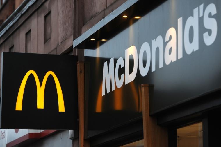 File photo: McDonald's jobs. General view of a McDonald's restaurant in Camden, London.(Press Association via AP Images)