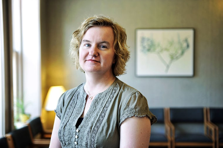 Tammi Kromenaker, director of the Red River Women's Clinic, poses for a photograph in Fargo, North Dakota July 2, 2013. Unless pending legal challenges lead the courts to intervene, clinic officials say, the Fargo clinic will be forced to close next...