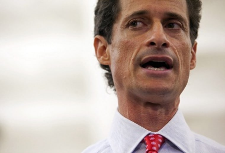 New York mayoral candidate Anthony Weiner speaks during a news conference in New York July 23, 2013. (Photo by Eric Thayer/Reuters)