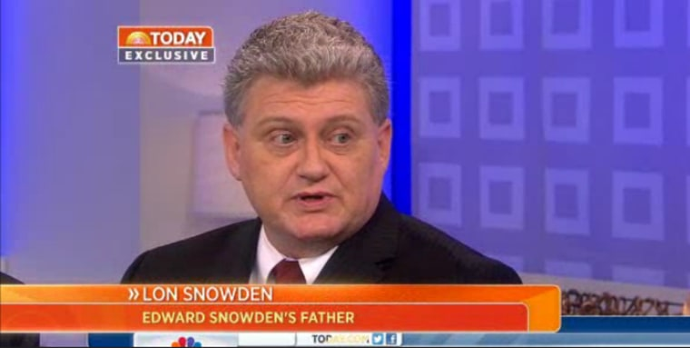 Lon Snowden on the TODAY show.