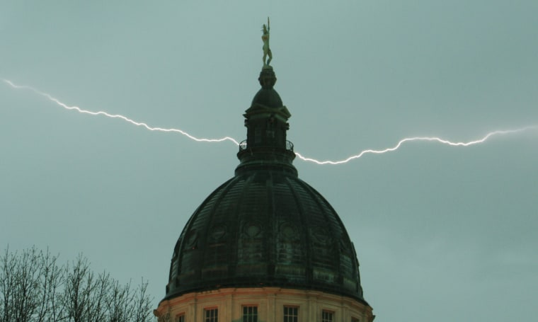 Friday, April 2, 2010, in Topeka, Kan. (AP Photo/Orlin Wagner)