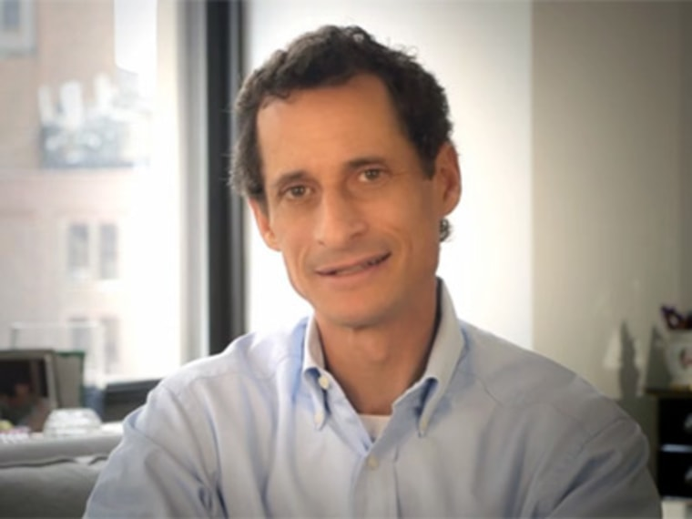 Anthony Weiner in a new web ad released July 30, 2013. (Vimeo)