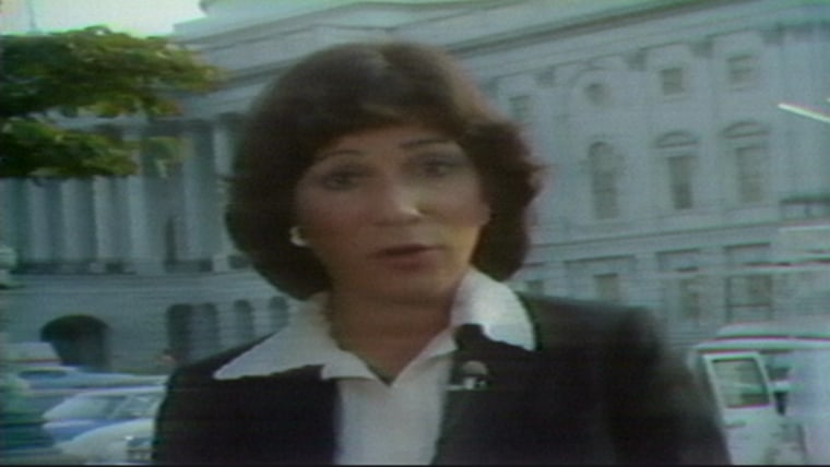 Andrea Mitchell reporting for NBC Nightly News, August 15, 1978.