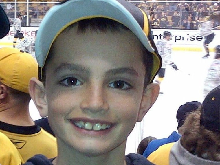 This undated photo provided by Bill Richard shows his son, Martin Richard, in Boston. Martin Richard, 8, was among the at least three people killed in the explosions at the finish line of the Boston Marathon Monday, April 15, 2013. (Photo by Bill...