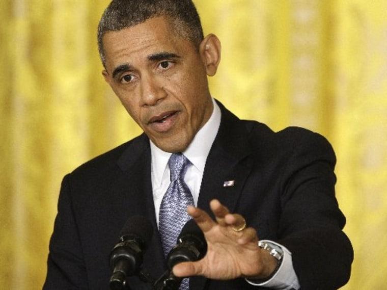 President Barack Obama REUTERS/Jonathan Ernst