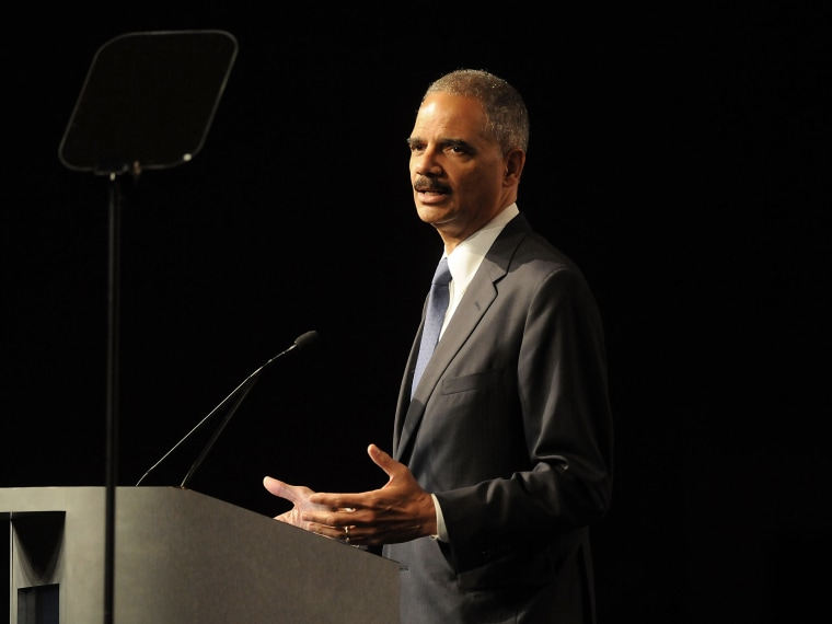 File Photo: U.S. Attorney General Eric Holder (Photo by Gerardo Mora/Getty Images, File)