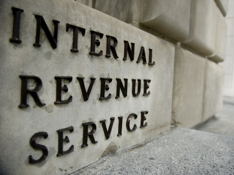 The Internal Revenue Service building, Washington DC.  (Photo by Ann Hermes/The Christian Science Monitor via Getty Images)