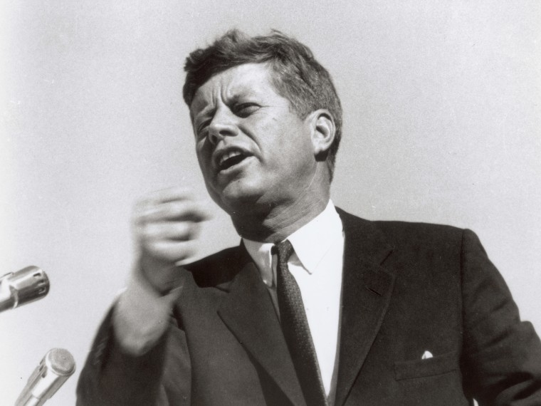 President John F. Kennedy  (Photo by Fotosearch/Getty Images, File).