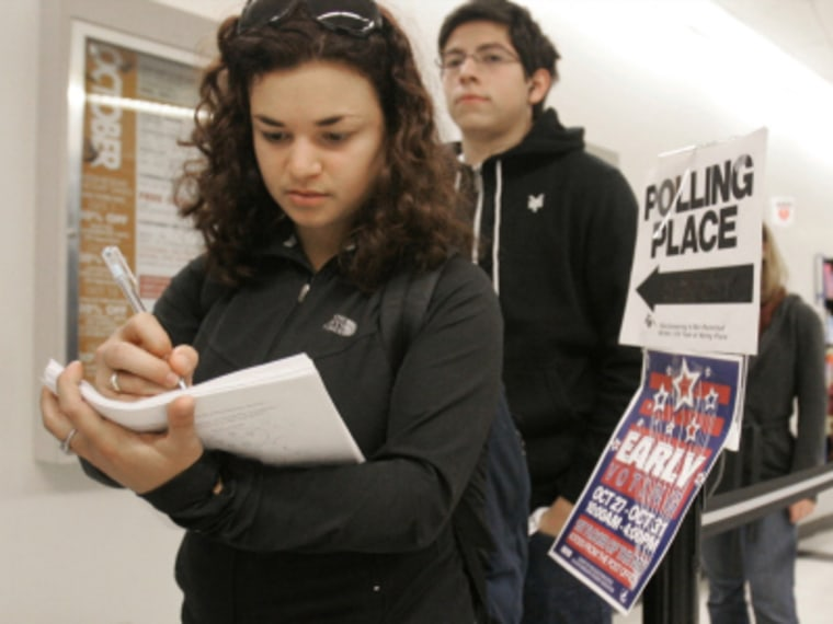 Registering young voters