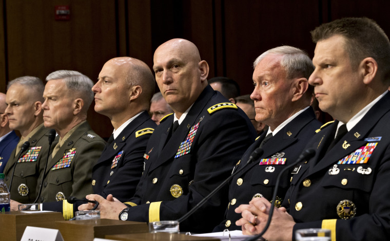 As Congress investigates the growing epidemic of sexual assaults within the military, the Senate Armed Services Committee holds a hearing Tuesday, June 4, 2013, to demand answers from top uniformed leaders about whether a drastic overhaul of the...