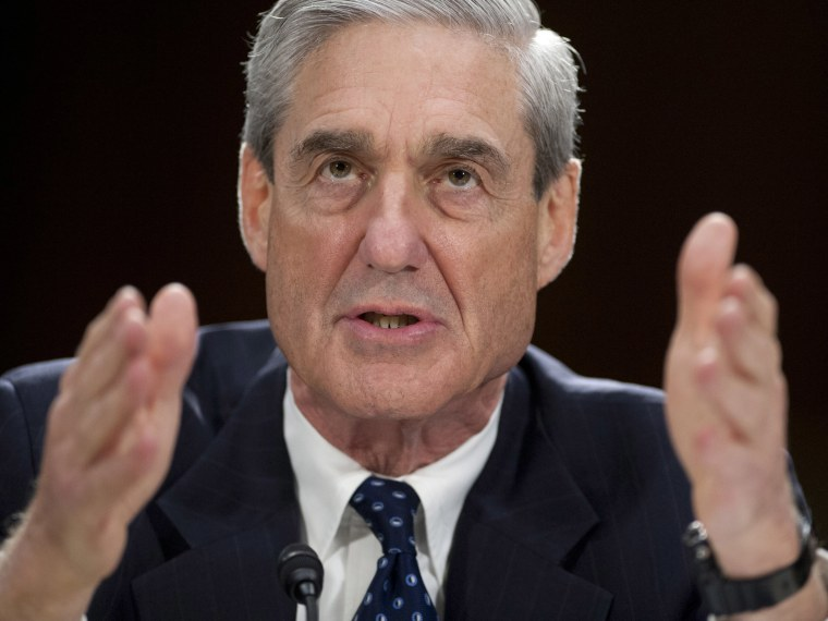 Federal Bureau of Investigation (FBI) Director Robert Mueller testifies before the US Senate Judiciary Committee on oversight during a hearing on Capitol Hill in Washington, DC, June 19, 2013. (Photo by Saul Loeb/AFP/Getty Images)