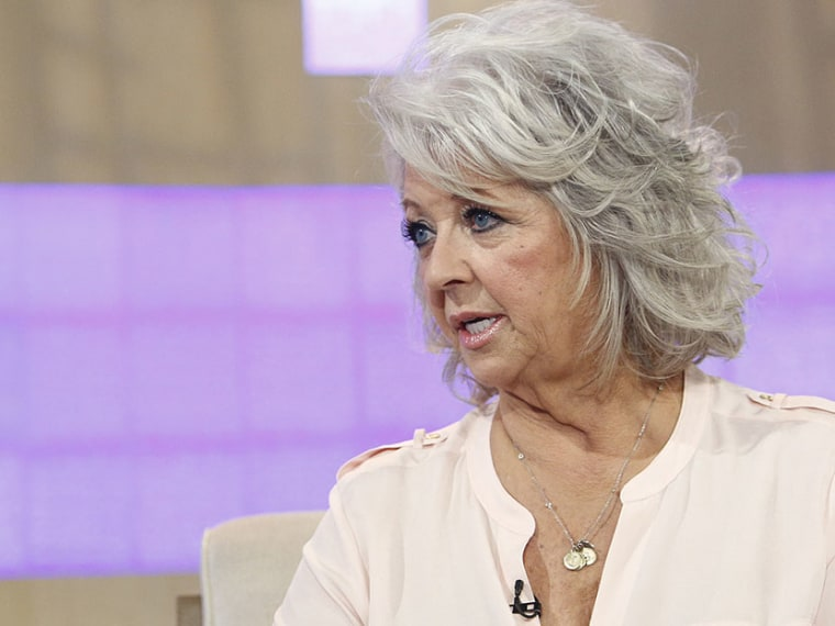 """Paula Deen appears on NBC News' """"Today"""" show (Photo by Peter Kramer/NBC/Getty Images)"""