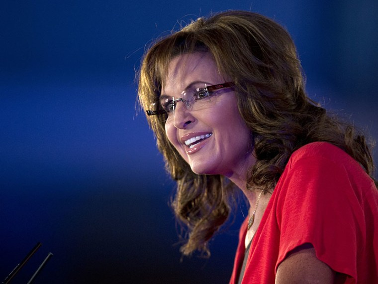 Former Gov. of Alaska Sarah Palin speaks during the Faith and Freedom Coalition Road to Majority 2013 conference, Saturday, June 15, 2013, in Washington. (Photo by Carolyn Kaster/AP)