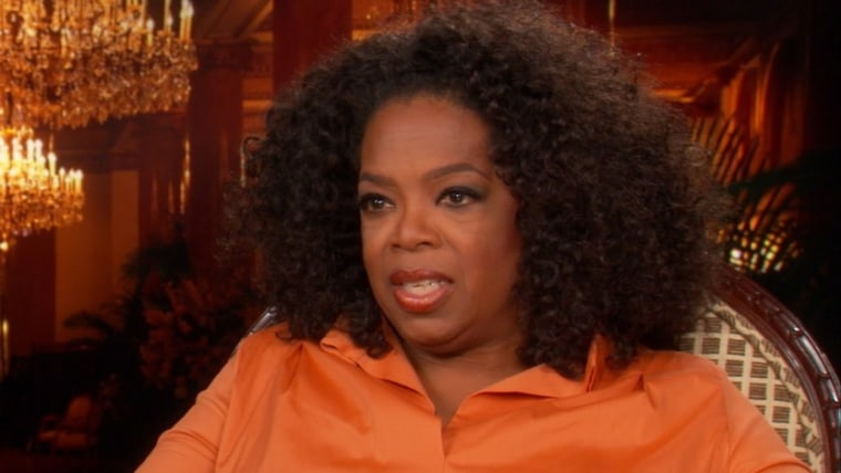 Oprah Winfrey talks with theGrio's Chris Witherspoon in an interview that aired Aug. 5, 2013.