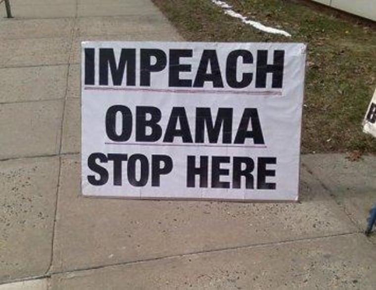 'Why don't we impeach him?'