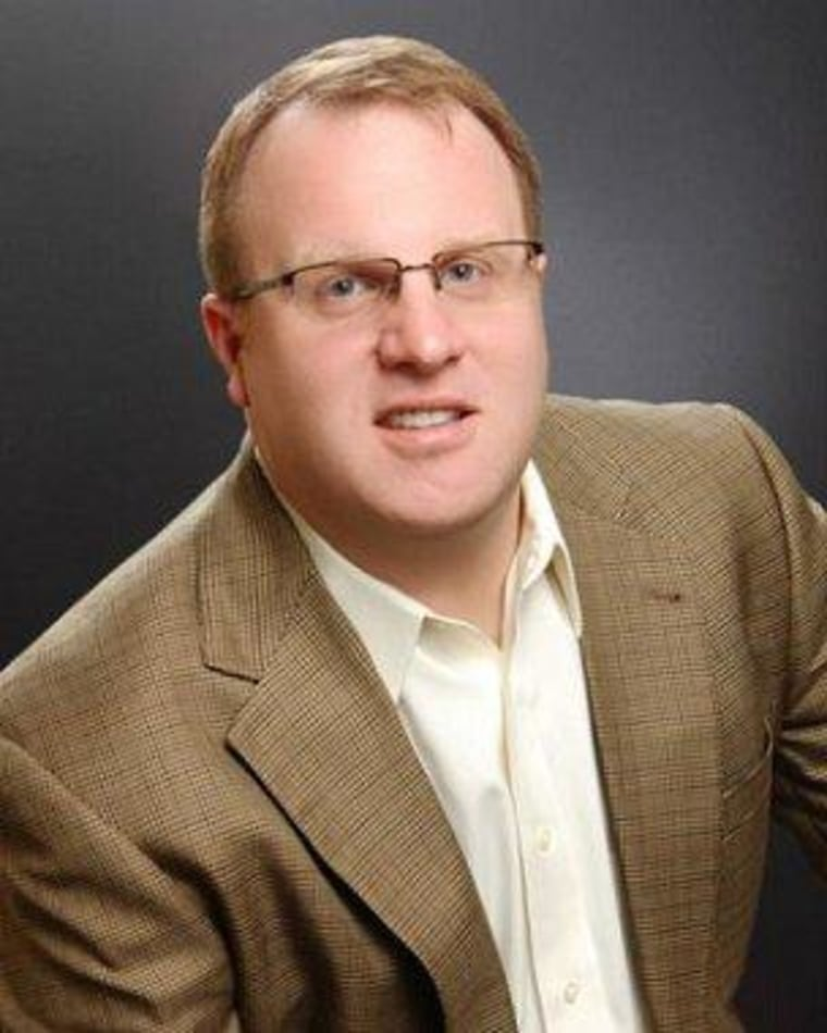 Promotional photo for former Republican operative Clint Murphy