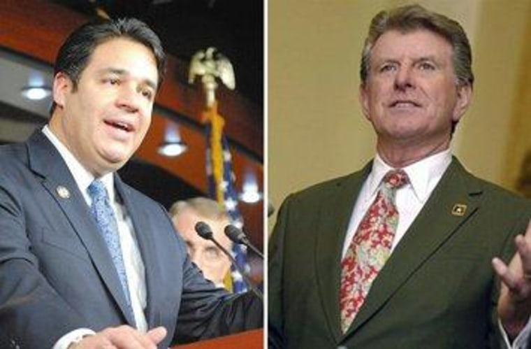 Rep. Raul Labrador (R) and Idaho Gov. Butch Otter (R)