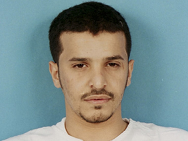 Handout picture of Saudi fugitive Ibrahim Hassan al-Asiri as seen at the Saudi interior ministry of the most wanted terror suspects.  (Saudi Interior Ministry/Reuters)