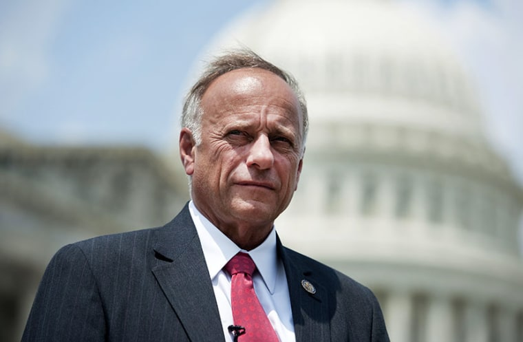 Rep. Steve King, R-Iowa. (Photo By Chris Maddaloni/CQ Roll Call/Getty Images)