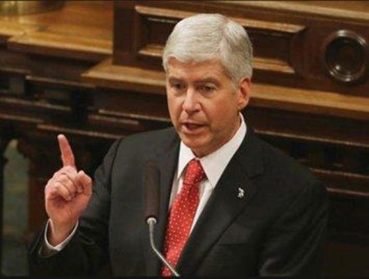 Michigan Gov. Rick Snyder (R)