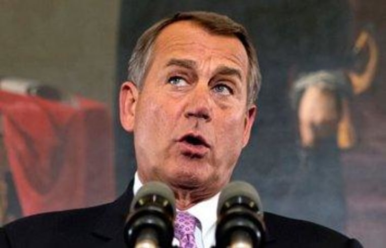 Boehner vows debt-ceiling crisis won't be 'pretty and polite'