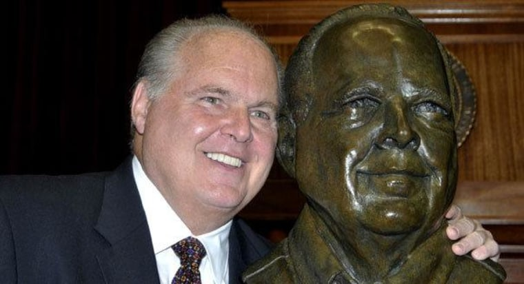 How a bronze bust of Rush Limbaugh turned into a good thing