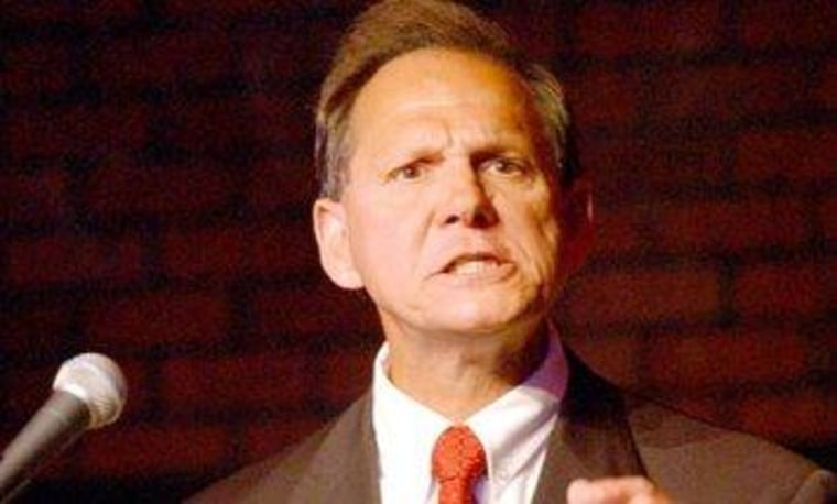 Alabama Supreme Court Chief Justice Roy Moore (R)