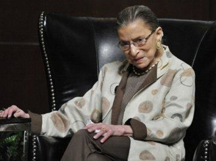 Ginsburg reflects on present, future