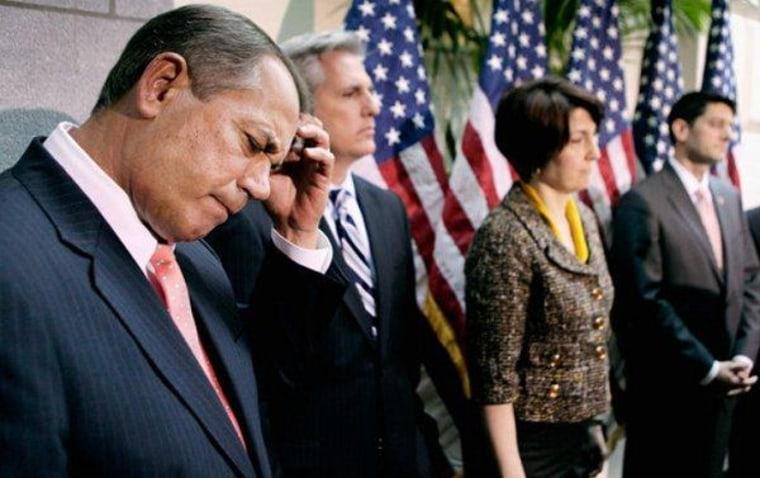 John Boehner, Speaker In Name Only