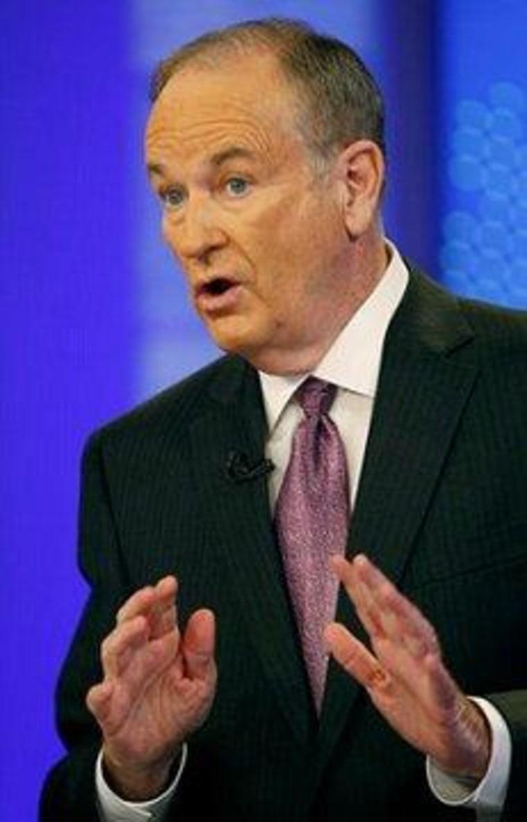A rare sight: O'Reilly admits error