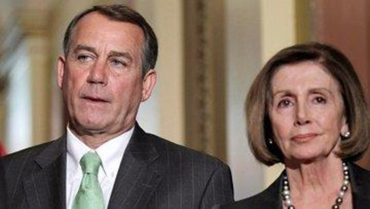 House Dems push Boehner from the other direction