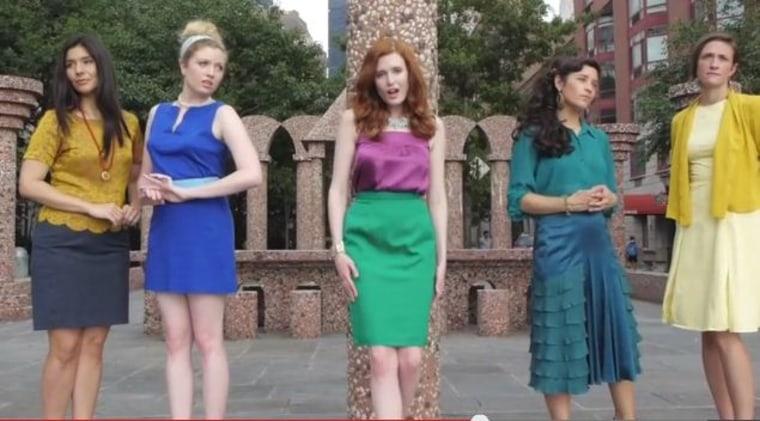 Courtesy: You Tube Video Disney Princesses for Equal Pay)