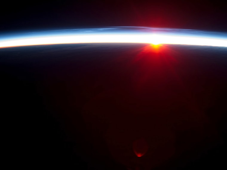 Image: SPACE-US-ISS-SUN