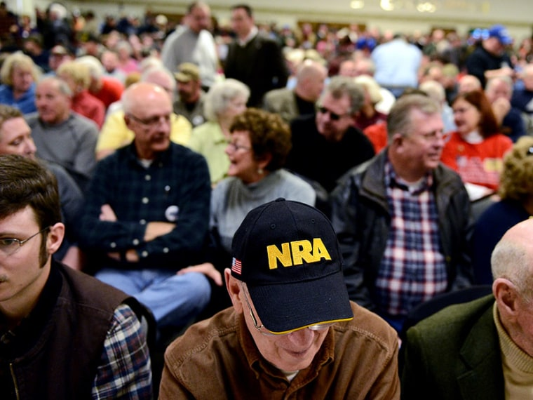 NRA President Leads Second Amendment Rally In Dover