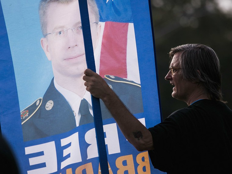 Image: Military Judge Sentences Bradley Manning
