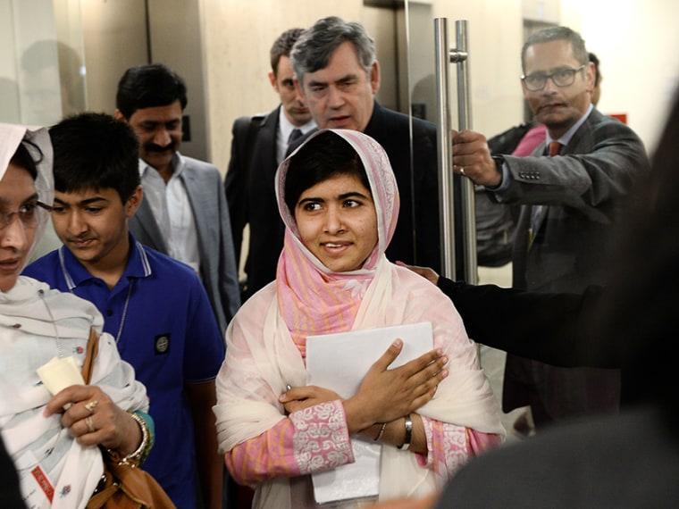 Malala Yousafzai at the United Nations - Erin Delmore - 08/21/2013