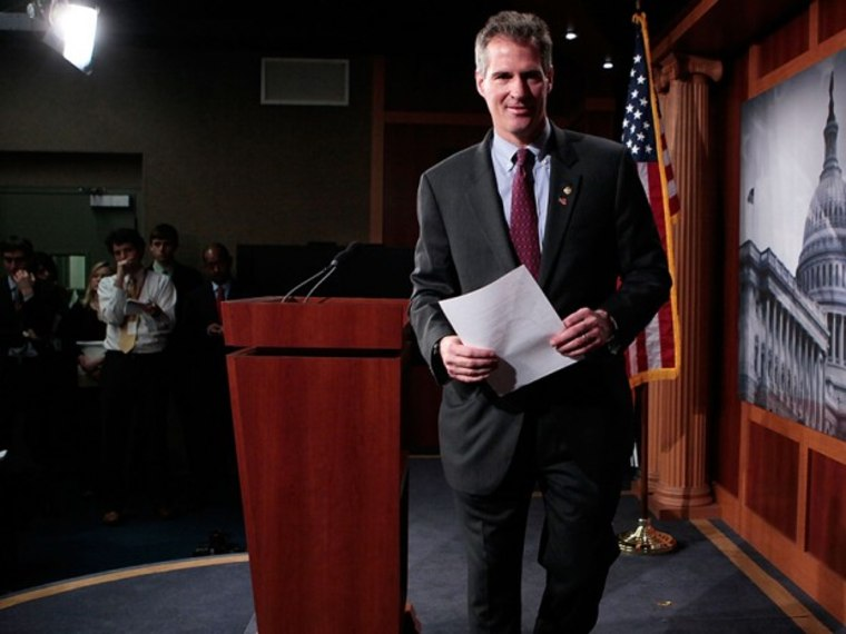 Scott Brown Political Ambitions - Scott Brown - 08/22/2013