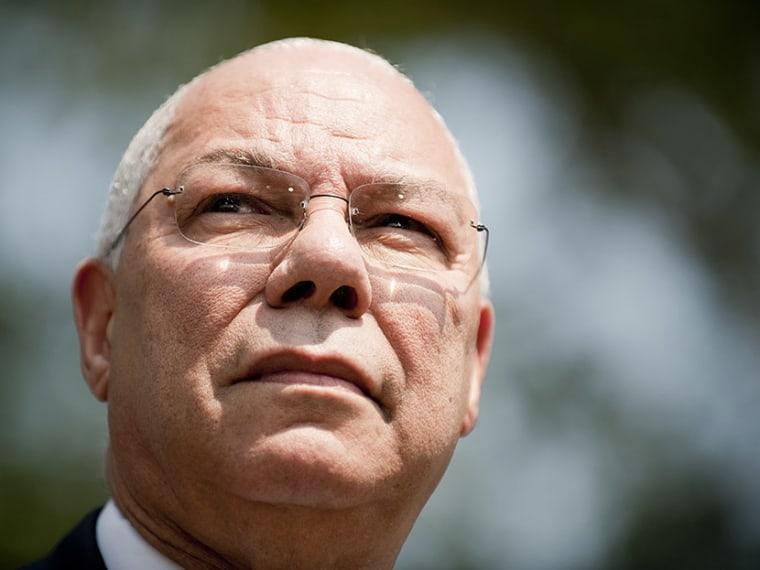 Colin Powell, Voting Rights - Morgan Whitacker - 08/22/2013