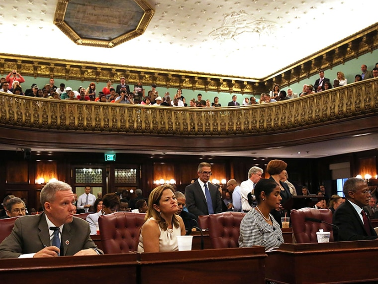 NY City Council Votes On Stop and Frisk - Aliyah Frumin - 08/22/2013
