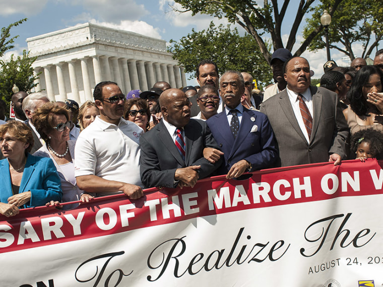 50th Anniversary Of Martin Luther King's March On Washington Commemorated In DC