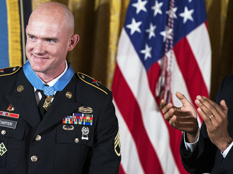 Ty Carter, Medal of Honor - 08/26/2013