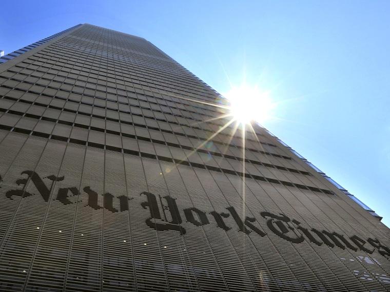 New York Times hacked - Michele Richinick - 08/28/2013