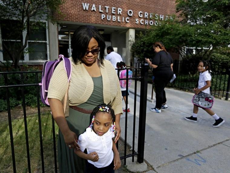 Chicago School Closures - Trymaine Lee - 08/28/2013