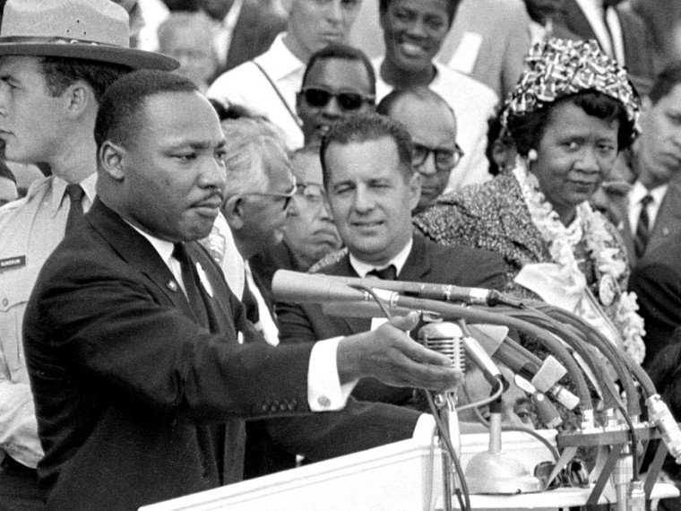 Martin Luther King; Dorothy Height