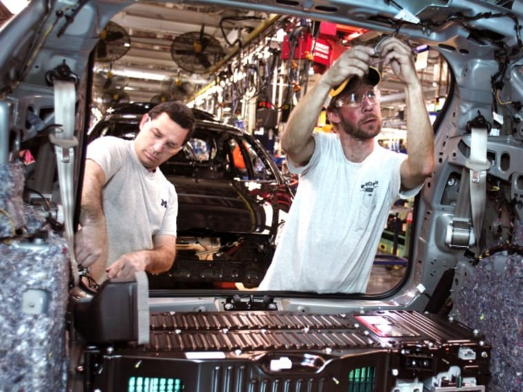 Ford Manufacturing in Detroit - Jane Timm - 08/28/2013